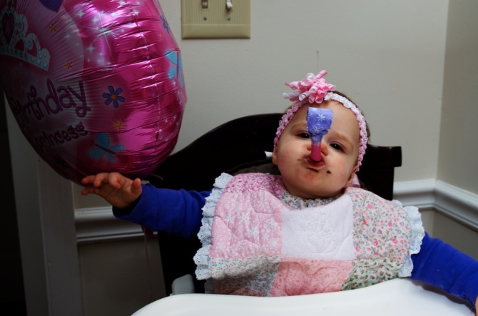 Kellie Marie's first birthday party!