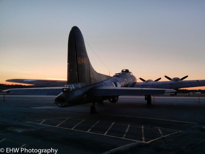 Memphis Belle at at dawn