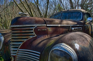 Desoto puts a twinkle in my eye on Day one of Old Car City...