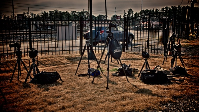 Tripod field of dreams!