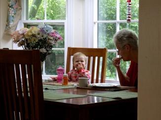 Breakfast with Grandma