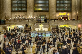 Hustle Bustle in Grand Central Station
