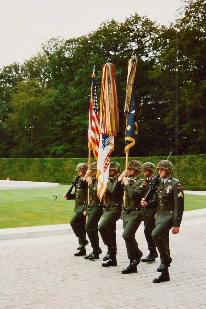 Color Guard on the move!