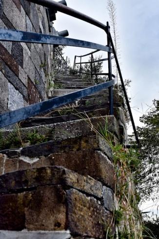 Original Savannah stairs at the docks