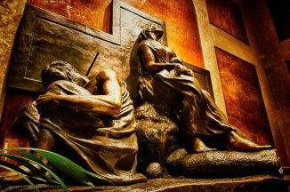 Holy Family in the Desert at the Shrine of the Immaculate Conception