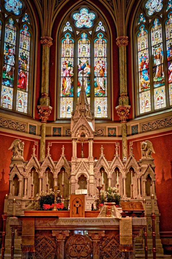 My first Ad Orientum mass in Savannah, GA April 2016